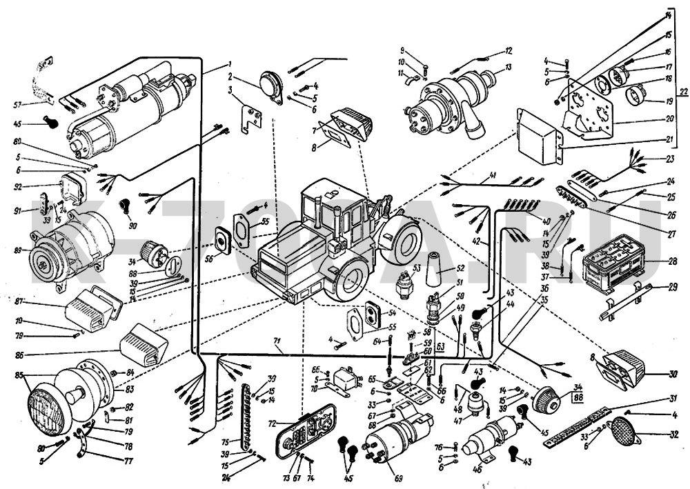 трактора т-150к с: Скачать