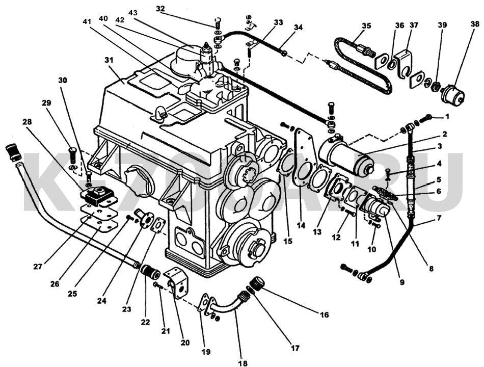 Установка коробки передач