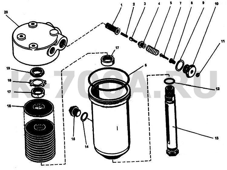 Фильтр коробки передач